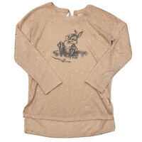 Lauren Conrad X Disney Pink Tie Back Thumper Sweater Extra Small XS
