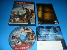 God of War (PlayStation 2, 2005) PS2 Game Complete~Tested