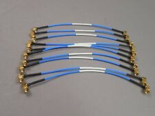Lot Of 10 Hubersuhner 23030077 Multiflex 86 Sma Cable Assembly 9