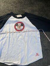 Vtg Mickey Mouse Club Disneyland Shirt Raglan T-Shirt Baseball Usa S 80s