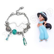 Jasmine Princess Disney Charm Bracelet Pandora Beautiful, Adjust Size, DIY