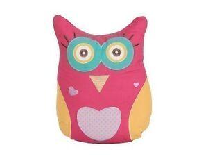 Owl shaped(33 x 40cm) Filled Childrens/Kids Cushion