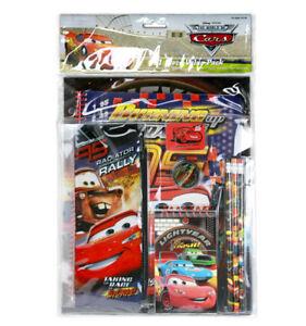 Disney Pixar Cars 11pc Stationary Value Pack for Kids Boys Girls for School Gift