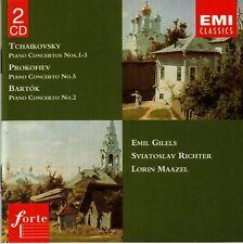 Tchaikovsky, Prokofiev, Bartók: Piano Concertos (1995) 2 x CD