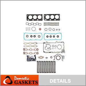 Full Gasket Set Head Bolts Fits 07-11 Chrysler Dodge Volkswagen 4.0L 24V VIN X 6