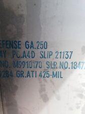 """TITANIUM PLATE ATI 425 Gr 38  .250"""" X 12"""" X 48"""""""