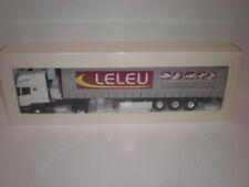 1/43  Truck Scania Serie R Topline Sami Tautliner Transports Leleu  / Eligor