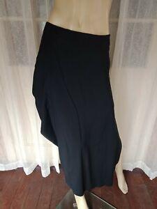 👺 SIZE 6 LISA HO BLACK ZIP BACK LAYERED SKIRT BEST BUY DESIGNER CLOTHES