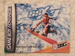 23241 Instruction Booklet - SSX3 - Nintendo Game Boy Advance () AGB-BSXP-UKV
