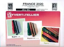 Jeu France Yvert SC  Supra 2020 / 1er semestre