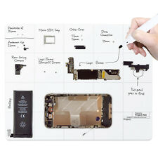 Magnetic Project Work Surface Mat for iPhone Apple Repair SmartPhone for Samsung