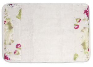 "Popular Bath Flower Haven Collection - Bathroom 21"" x 32"" Bathroom Rug"