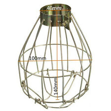 Modern Industrial Iron Metal Wire Frame Light Shades Light Steampunk Cage Bulb
