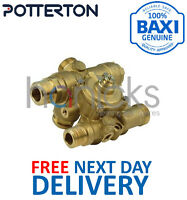 Potterton Performa 24i HE, 28i 3 Way Diverter Valve Assy 248727 Genuine Part NEW