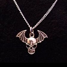 AVENGED Sevenfold MORTE Collana Pendente charm BAT a7x Catena Teschio Ali * Regno Unito *