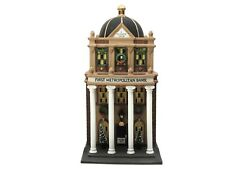 Department 56 Christmas In The City- First Metropolitan Bank #58823 Retired 1997