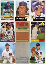 2016 Topps Archives Cubs Master Team Set w/ 1969 Super &  65th Anniv. (18)