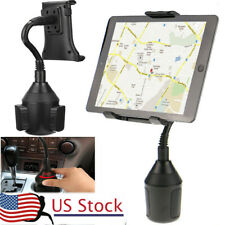 """360° Universal Car Cup Holder Mount Cradle for 3.5""""-11'' Phone iPod Tablet GPS"""