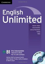 English Unlimited Pre-intermediate A and B Teacher's Pack (Teacher's Book with D