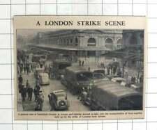 1947 Troops Take Over Food Transport  Smithfield Market During Strike