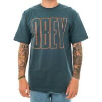 T-SHIRT UOMO OBEY OBEY WORLDWIDE LINE BASIC TEE 163082000.PNE  SHORT SLEEVE MAN