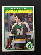 1982-83 O-Pee-Chee Hockey Card - Don Beaupre # 163  NM/MT