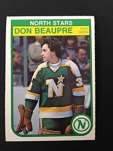 1982-83 O-Pee-Chee Hockey Card - Don Beaupre # 163  NM/MT