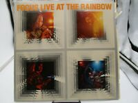 Focus- Live At The Rainbow (Vinyl LP)  Sire SAS-7408 VG+ cover VG+