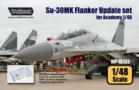 Wolfpack 1:48 Su-30MK Flanker Update Set for Academy - Resin Detail #WP48135