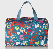 Vera Bradley Lighten Up Hanging Travel Organizer - Superbloom Sketch Blue $58