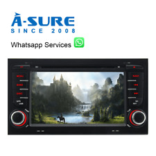 "7"" Autoradio DVD GPS Navi DAB+ für Audi A4 S4 RS4 8E 8H B6 B7 B8 Seat Exeo DVBT2"