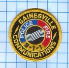 Emergency Patch - Gainesville Communications Police - Fire 911