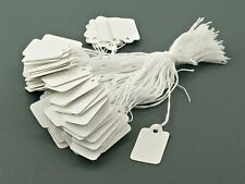 200 Pcs blank Labels Jewelry Strung Pricing Price Tags
