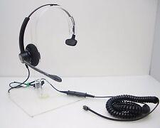 HW111N-01 Headset for Avaya Toshiba Polycom Nortel Mitel NEC Aspire Hybrex Ascom