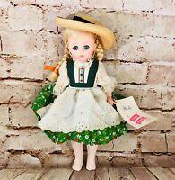 "Madame Alexander Doll Company Vintage Heidi 13"" Doll Collectible 1969"
