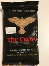 the crows city of angels trading cards lot of 5