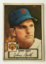 1952 Topps Baseball Card • Johnny Groth • #25