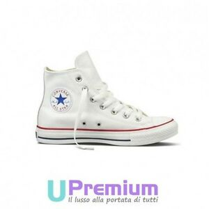 Converse All Star Leather Chuck Taylor White Classic 2021 Original Italy