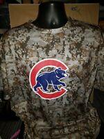 Chicago Cubs Camo T-Shirt Size XL Wrigley Field SGA 5/26/2019 Minecraft Rare