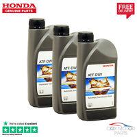 Genuine Honda ATF-DW1 Automatic Transmission Fluid 3 Litres