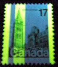 Canada: #790 17c Parliament Tagging Error Variety G2e (Extra Bar) Rose T8 CV$500
