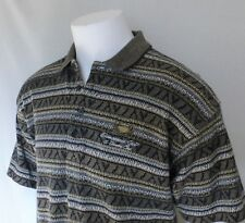 NWOT Antigua Mens Golf Polo Shirt, M, Flanneled Cotton, Sharp!, Made in USA!