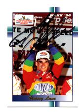 NASCAR Jeff Gordon autographed card