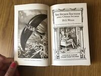 ANTICO LIBRO THE STOLEN BACILLUS AND OTHER STORIES H G WELLS Collin's Clear