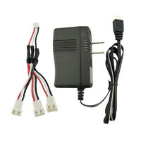 3 in 1 Lipo Battery Charger Cable+US Plug Charger for SYMA X8SW X8C RC Drone