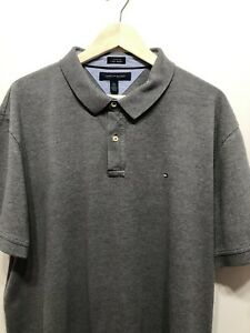 TOMMY HILFIGER CUSTOM FIT PIQUE POLO-EXCELLENT-XXL