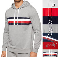 Mens Tommy Hilfiger Pullover Graphic Hoodie - Pick Size Color Model NEW