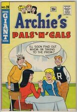 ARCHIE'S PALS N GALS #20 FN 6.0 JUGHEAD BETTY VERONICA