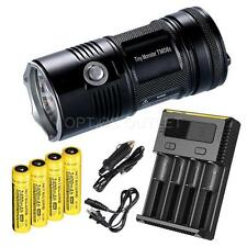 NiteCore TM06S 4000 lumens 393 Yard Flashlight w/ 3400mAh Premium Recharger Kit