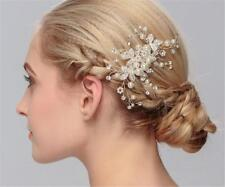 perles MARIAGE Peigne à cheveux Cristal Mariée Accessoires Strass Coiffe 1 pièce